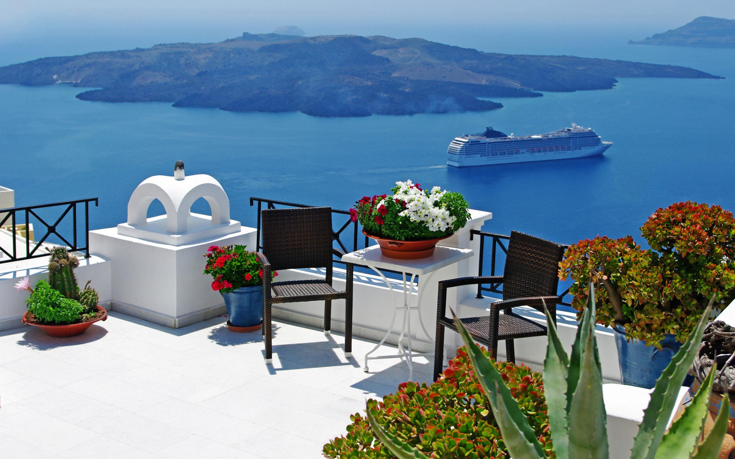 Греция обои на рабочий стол