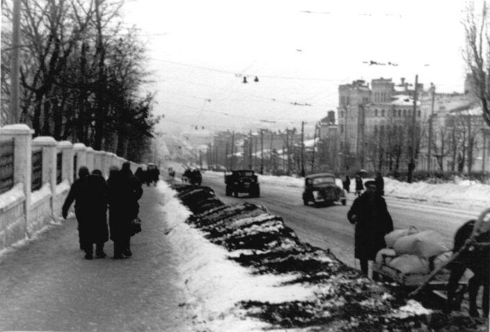 Киев времен окупации